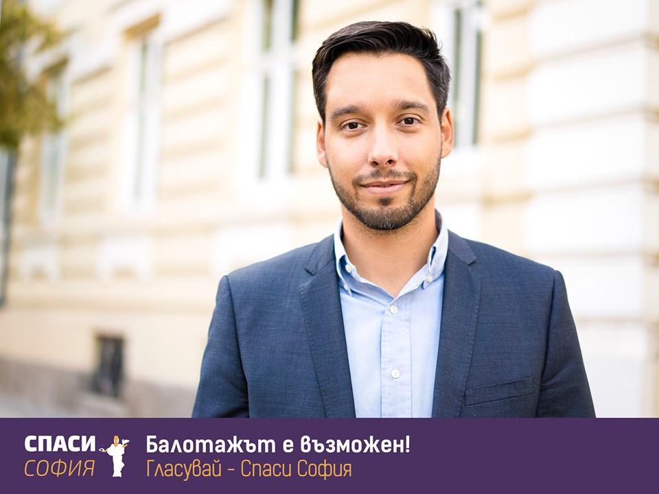 """Местни избори 2019 – кандидатът от """"Спаси София"""" Борис Бонев"""