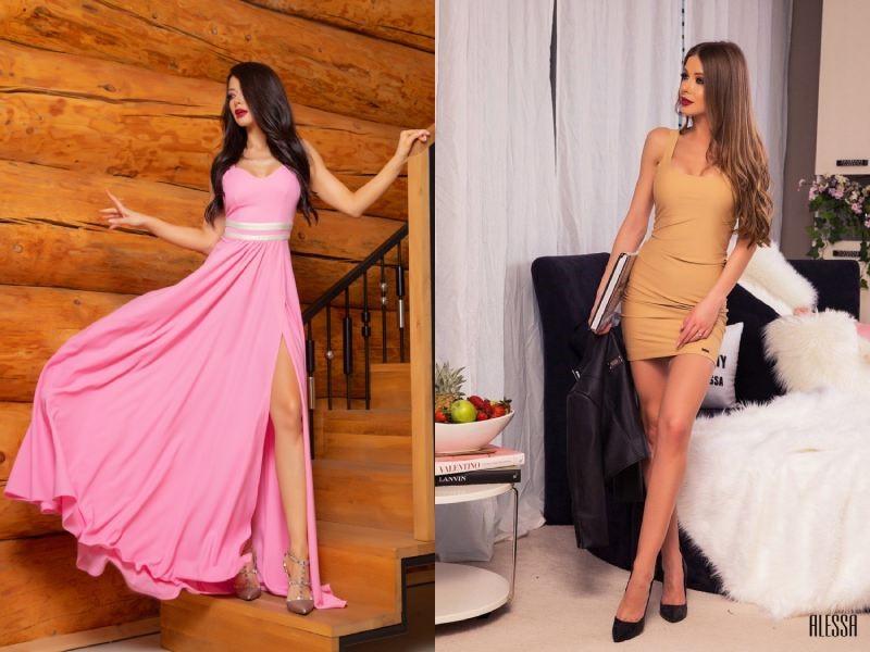 Кое ви отива? Екстремно дълги или минималистични рокли